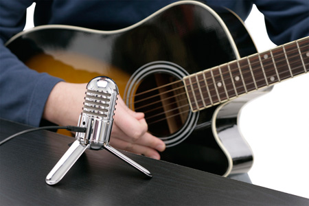 Metero Mic with Acoustic Guitar