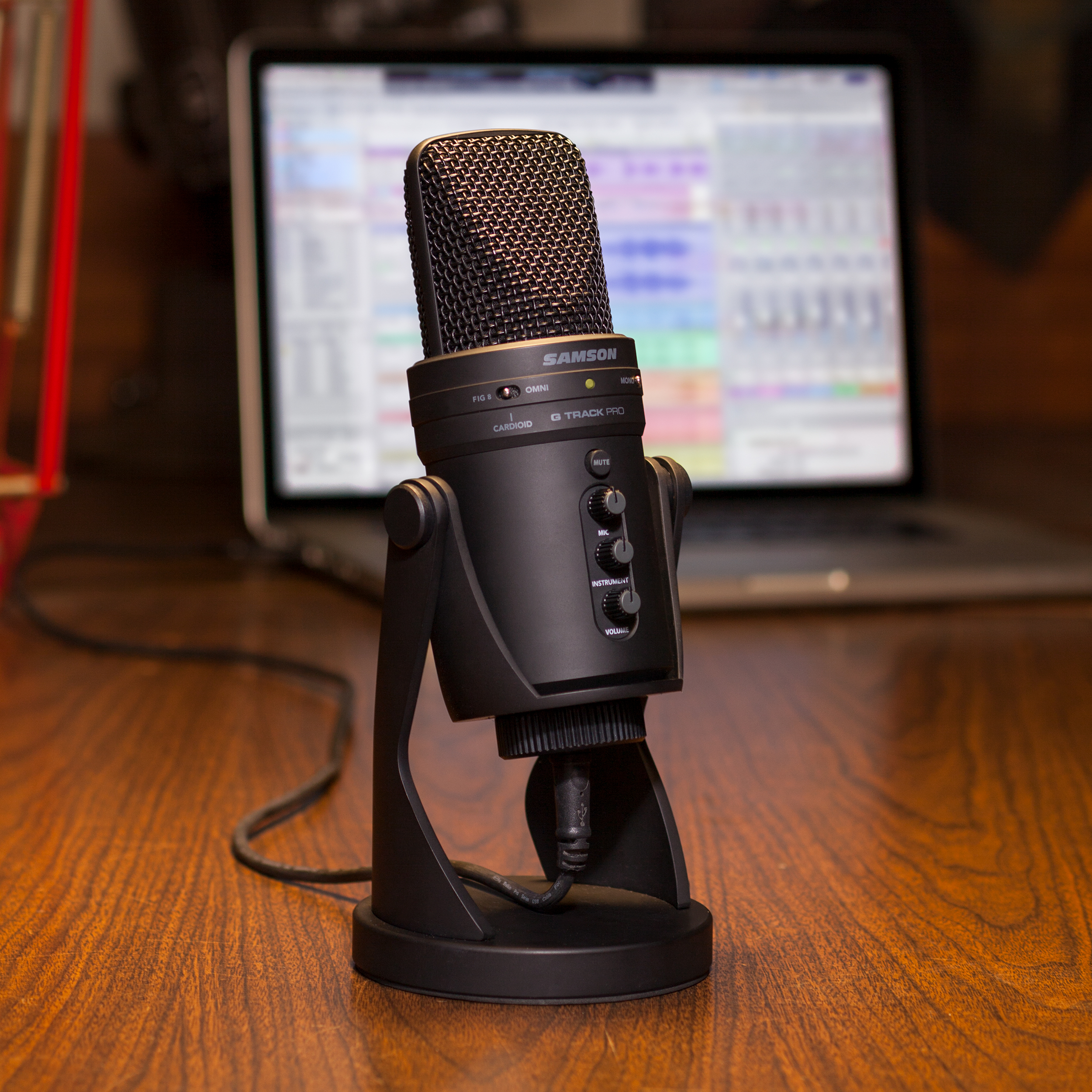 now available samson g track pro professional usb microphone with audio interface samson. Black Bedroom Furniture Sets. Home Design Ideas