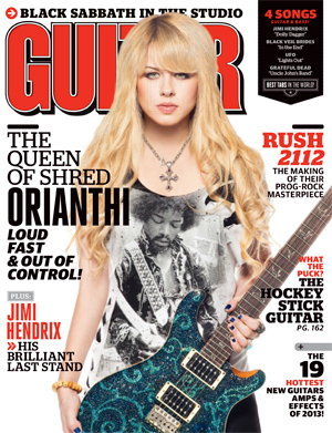 April 2013 Guitar World Cover