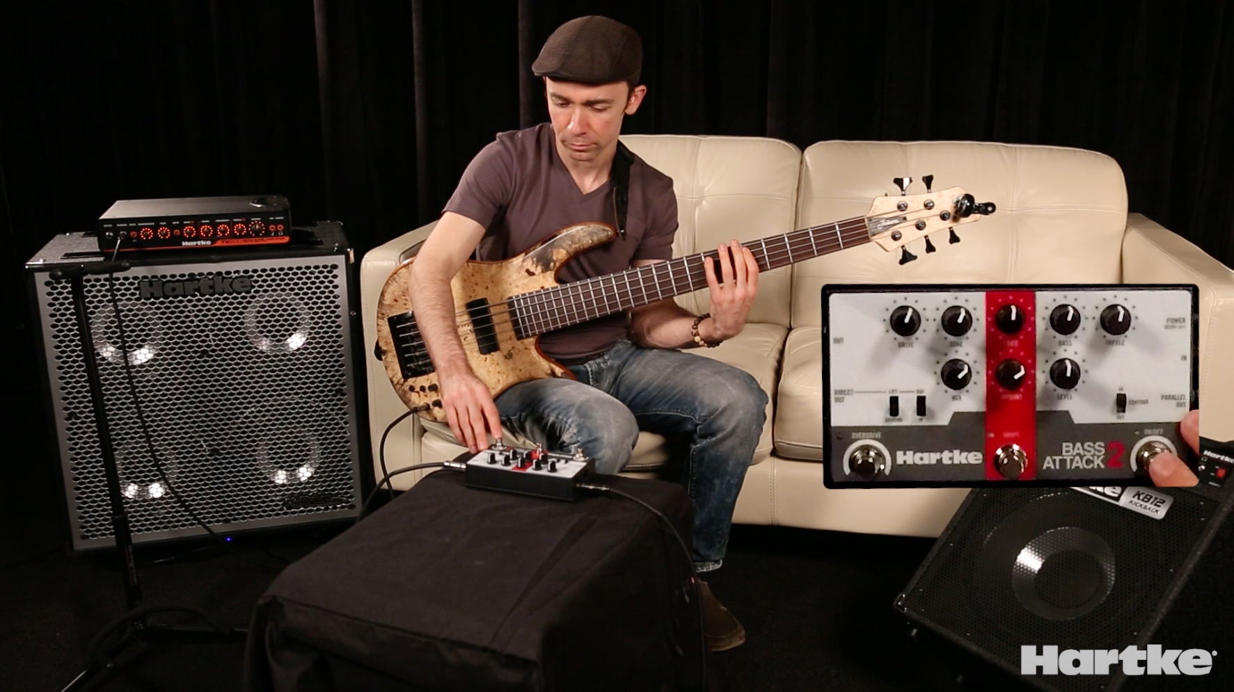 DEMO VIDEOS: John Ferrara/Bass Attack 2