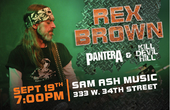 Rex Brown Debut Hartke Performance