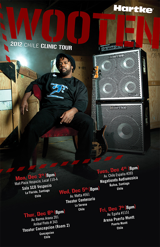 Victor Wooten 2012 Chile Clinic Tour