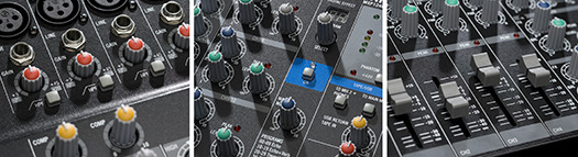 MXP124FX Knobs/Faders