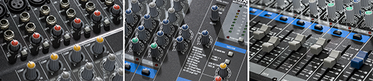MXP144FX Knobs/Faders
