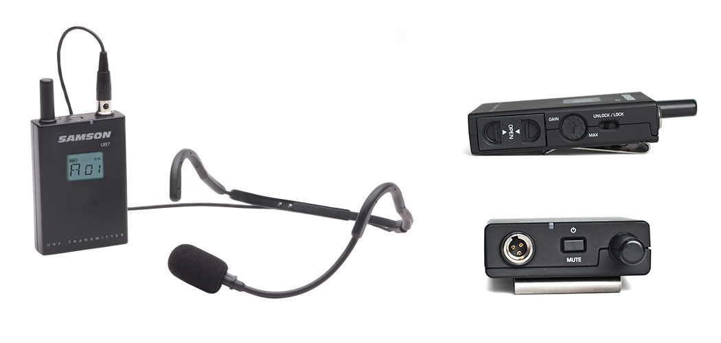 Synth7 Headset Components