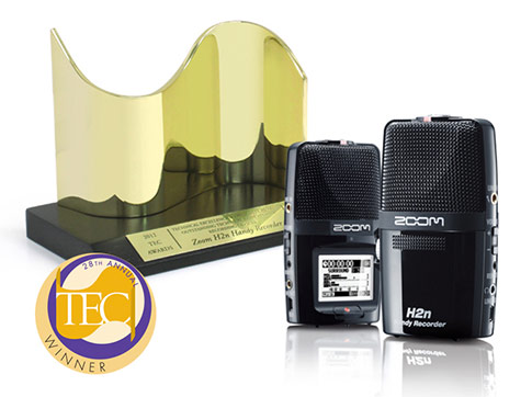 Zoom H2N - 2013 TEC Awards Winner