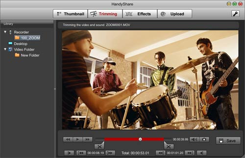 how to add zoom in effect in imovie