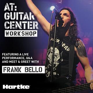 frank bello at guitar center workshop samson technologies. Black Bedroom Furniture Sets. Home Design Ideas