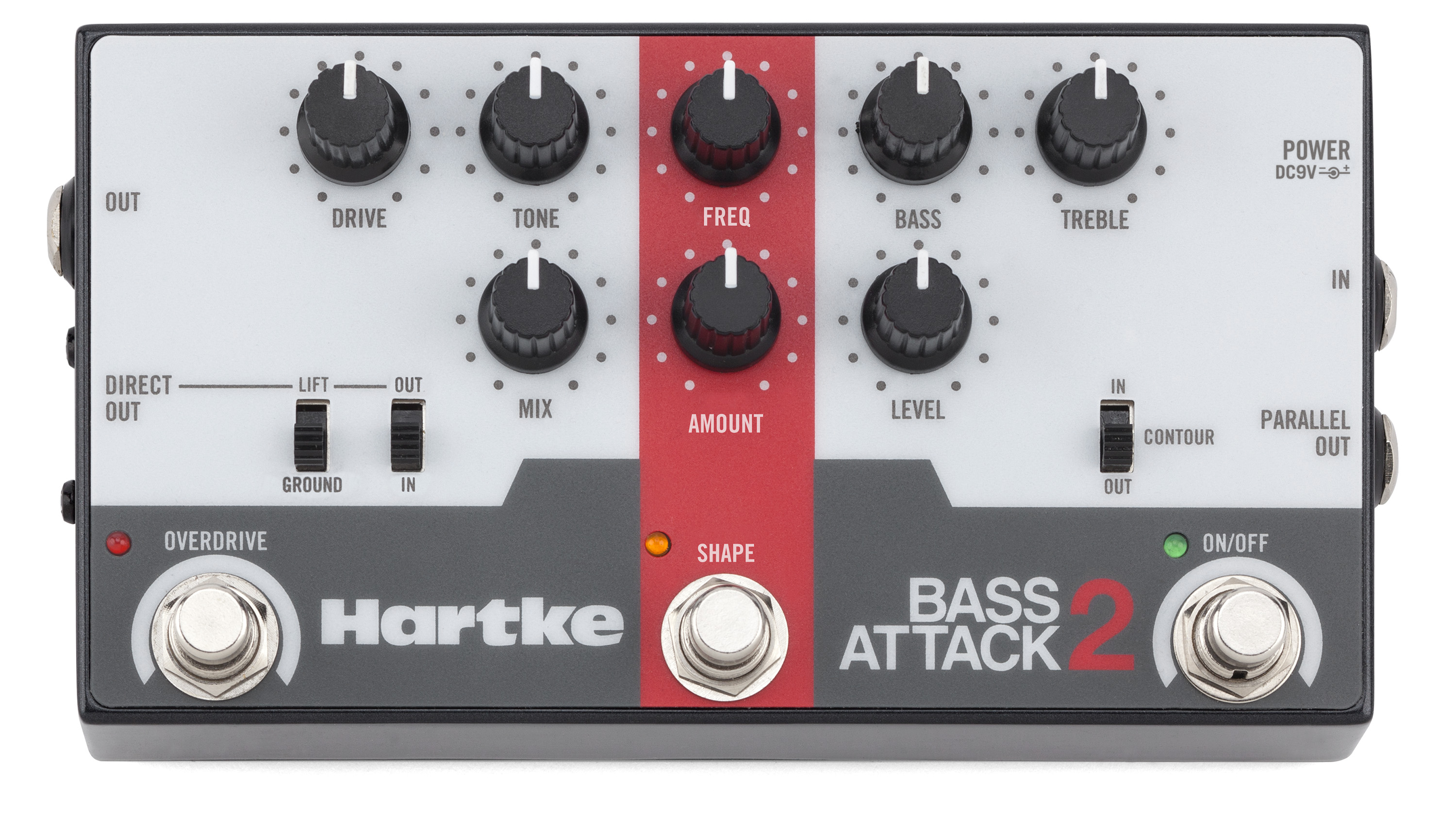 Hartke Bass Attack 2 Active Microphone Preamplifier Using Lf356 View Larger