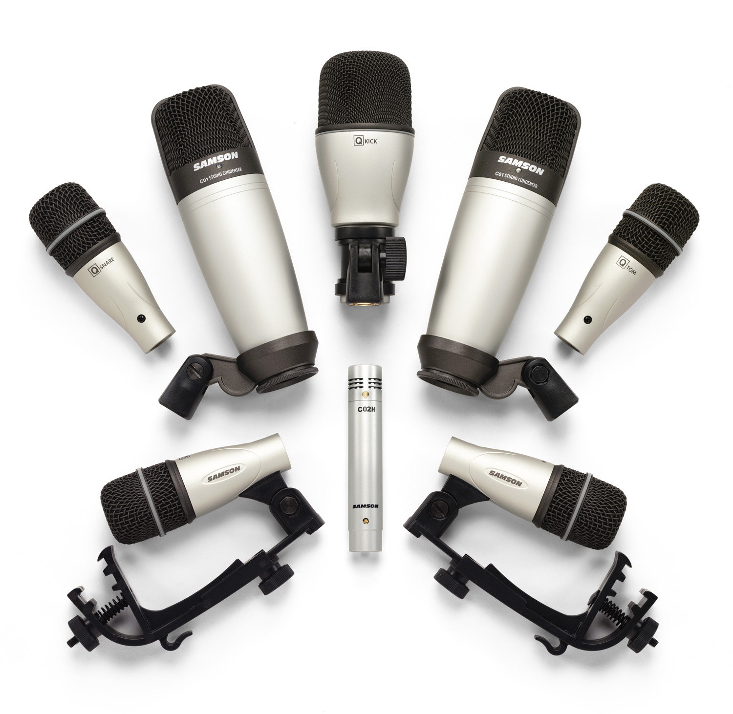 SAMSON 8KIT MICROPHONE