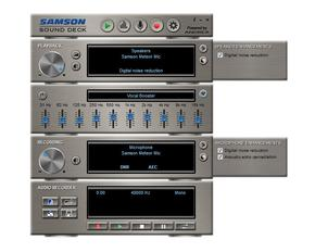 Samson Sound Deck Windows
