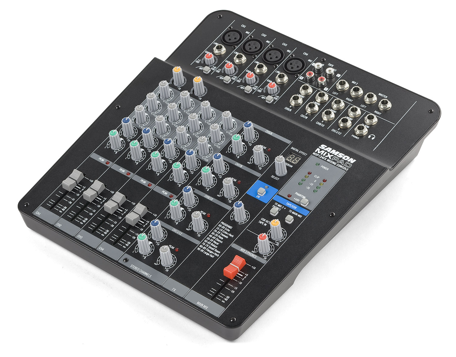 Samson Mixpad Mxp124fx Behringer Crossover Wiring Diagram View Larger