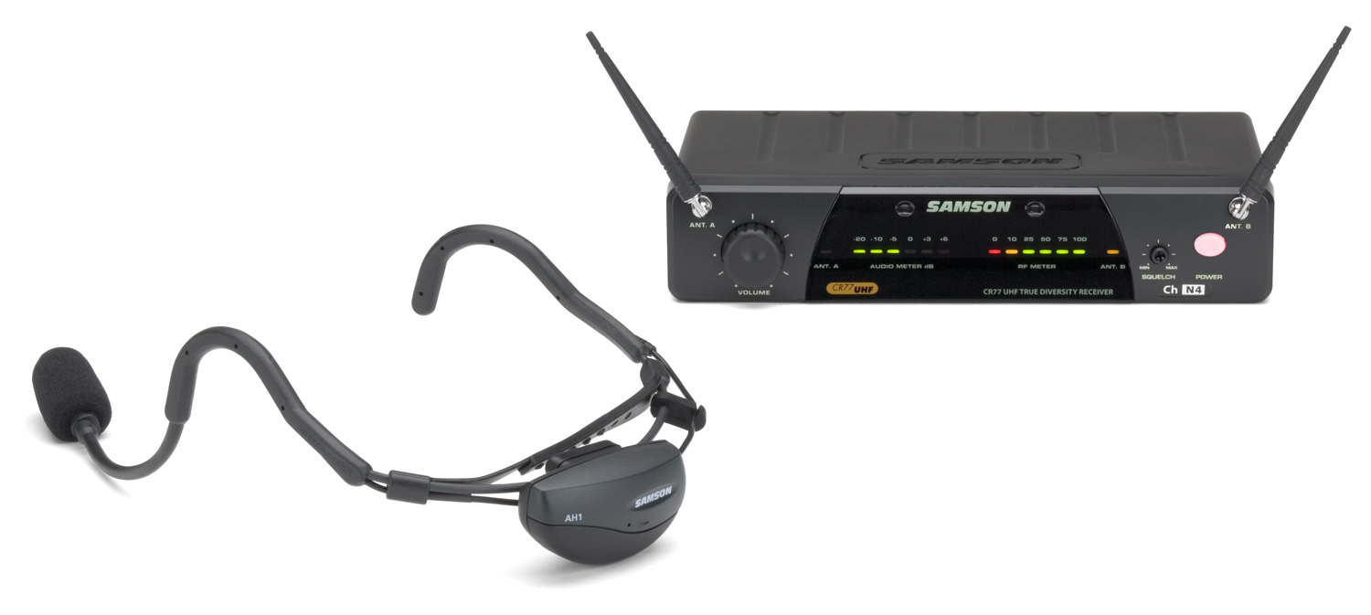 Samson Airline 77 Fitness Headset Wireless Microphone System SW7AVSCE at Sears.com