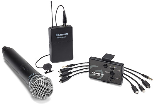 microphone hook up to receiver