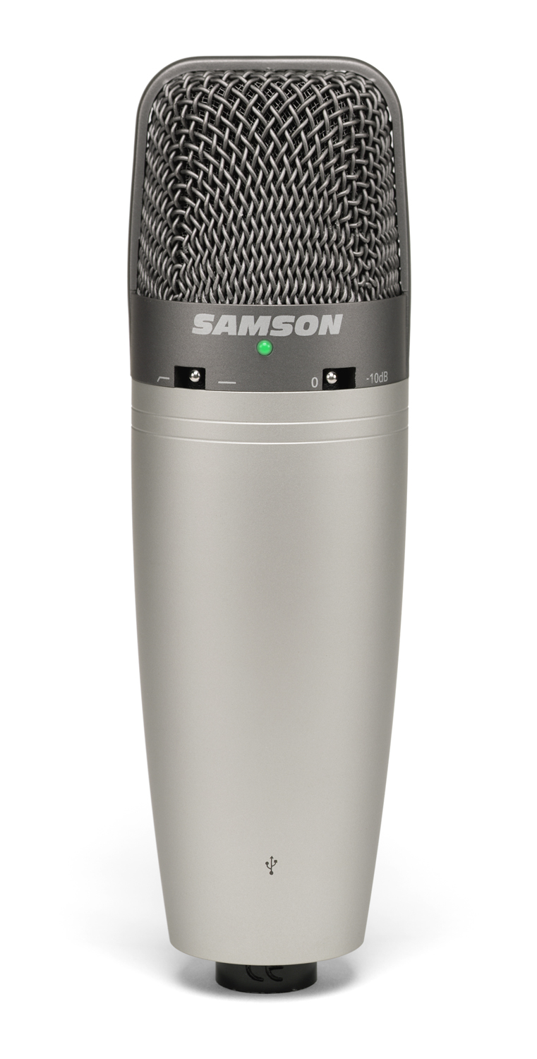 Samson C03u Condenser Microphone Diagram In This You Can See Multi Pattern Usb Studio View Larger