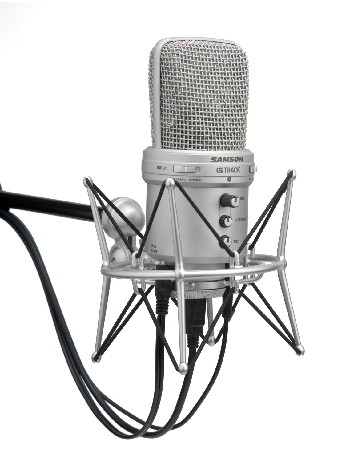 Samson G Track Computers Help Front Control Panel How Is The Audio Mic Wiring Usb Condenser Microphone With Interface