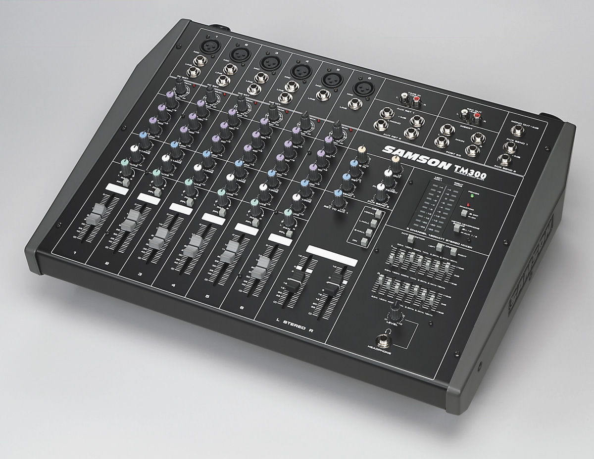 Image result for samson tm300 powered mixer