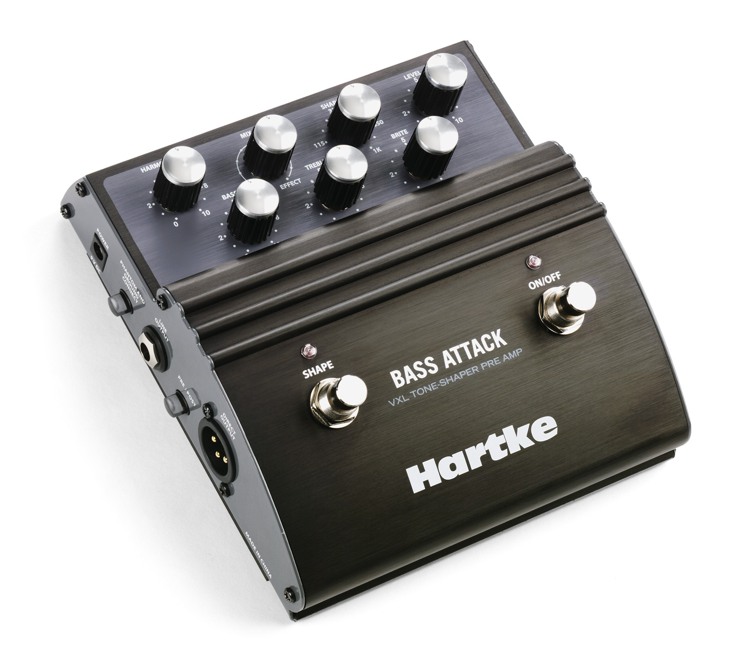 Hartke Vxl Bass Attack Inserting A Tone Control Between Preamp And Power Amp Downloads Manuals